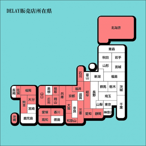 DELAY販売店所在県300606
