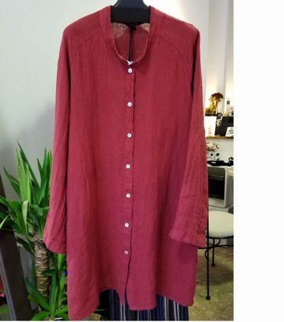 リネンロングシャツ7