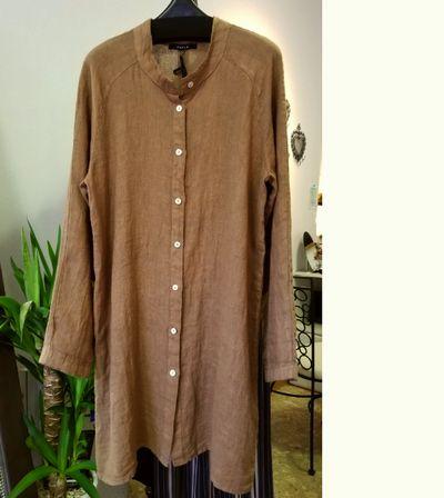 リネンロングシャツ8