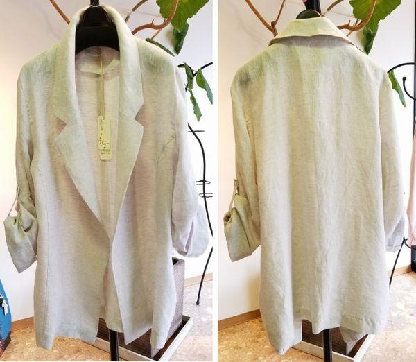 リネンのジャケット2