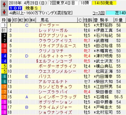 18晩春S