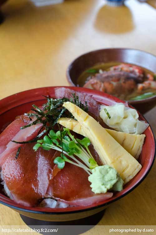 静岡県 富士市 魚河岸 丸天 海鮮丼 ランチ マグロ丼 美味い 新鮮 鉄火丼 カニ汁 料理写真 01
