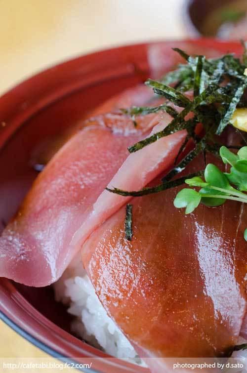 静岡県 富士市 魚河岸 丸天 海鮮丼 ランチ マグロ丼 美味い 新鮮 鉄火丼 カニ汁 料理写真 03