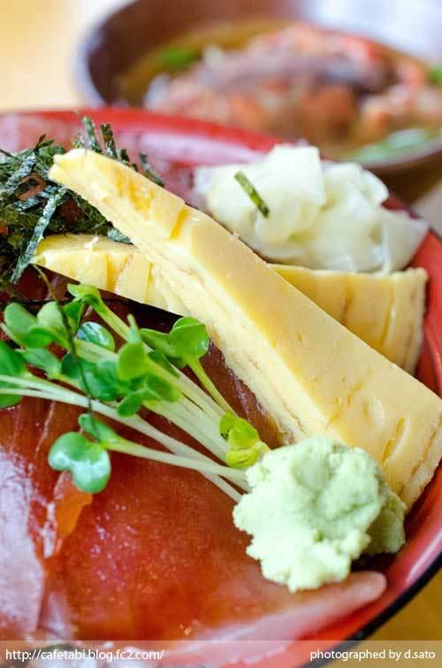 静岡県 富士市 魚河岸 丸天 海鮮丼 ランチ マグロ丼 美味い 新鮮 鉄火丼 カニ汁 料理写真 04