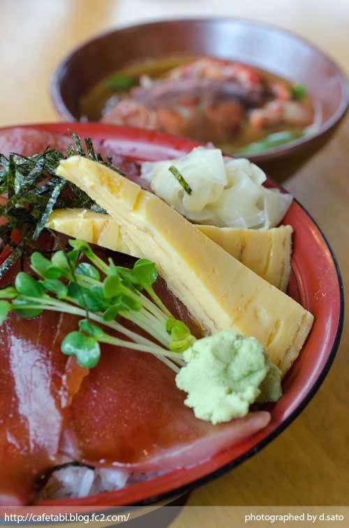 静岡県 富士市 魚河岸 丸天 海鮮丼 ランチ マグロ丼 美味い 新鮮 鉄火丼 カニ汁 料理写真 05