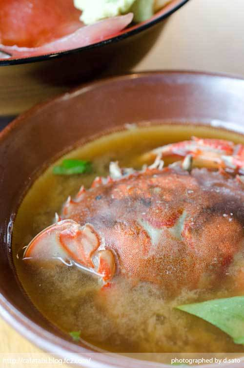 静岡県 富士市 魚河岸 丸天 海鮮丼 ランチ マグロ丼 美味い 新鮮 鉄火丼 カニ汁 料理写真 07