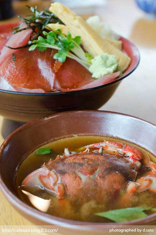 静岡県 富士市 魚河岸 丸天 海鮮丼 ランチ マグロ丼 美味い 新鮮 鉄火丼 カニ汁 料理写真 09
