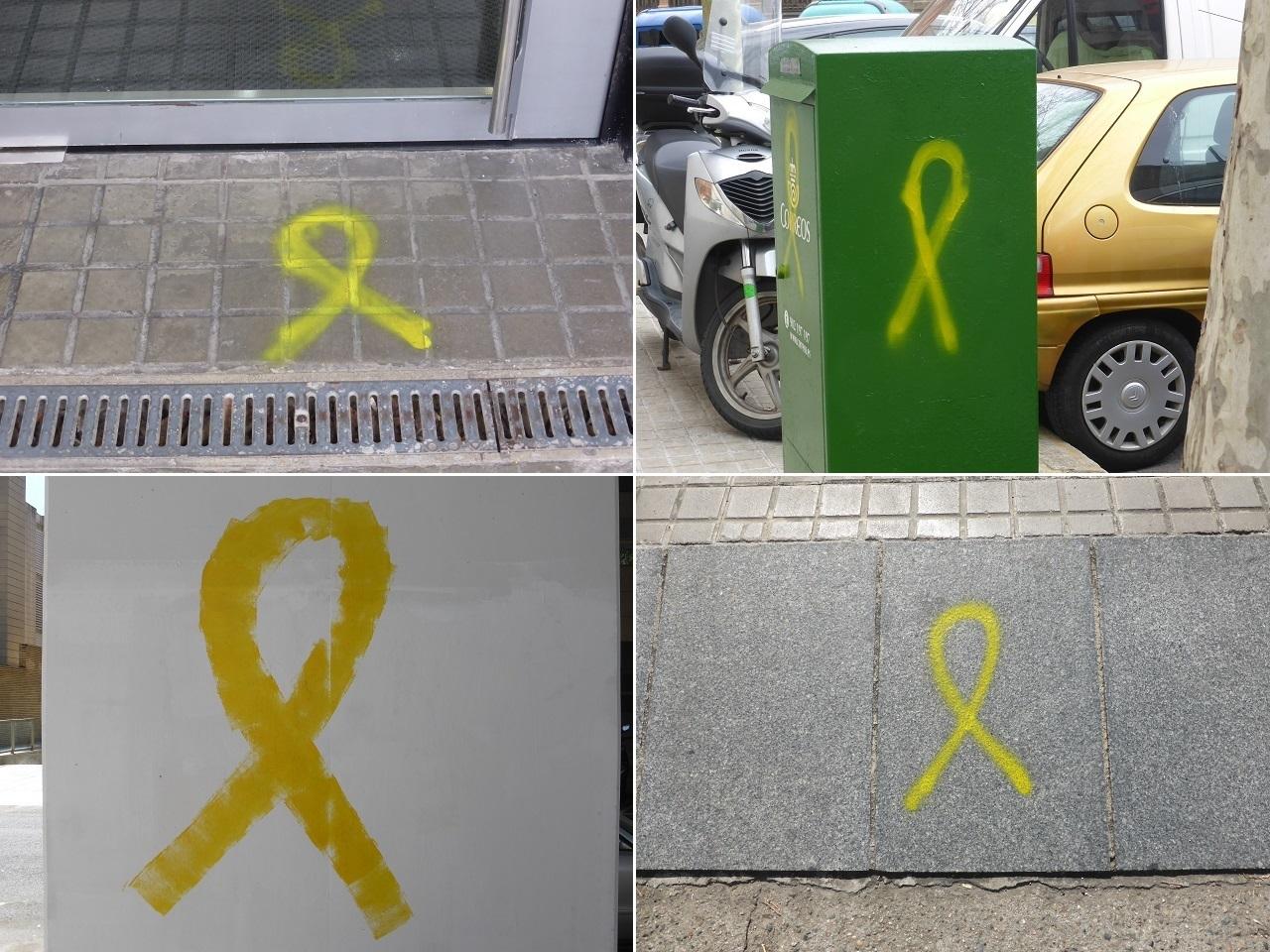 黄色いリボン バルセロナ