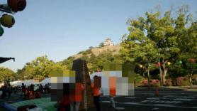 丸亀お城祭り跳び箱チャレンジ
