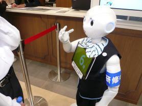 宝塚北SAのロボットの判定結果