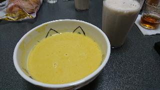 バナナジュースとカボチャスープ七月十一日