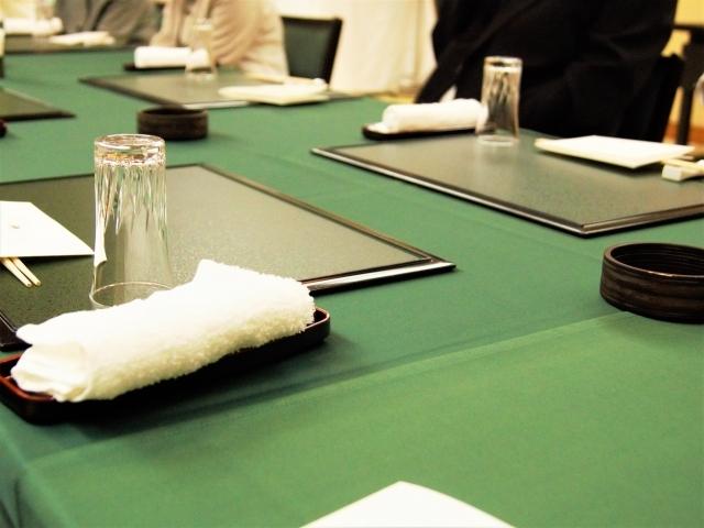 和室で食事会