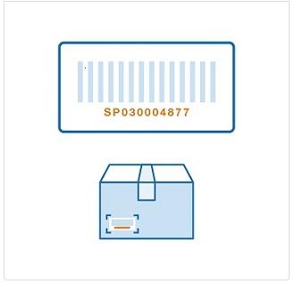 返品用バーコード 2