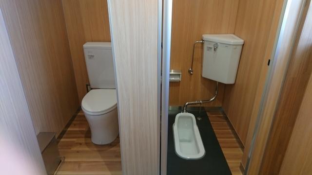 和式・洋式トイレ