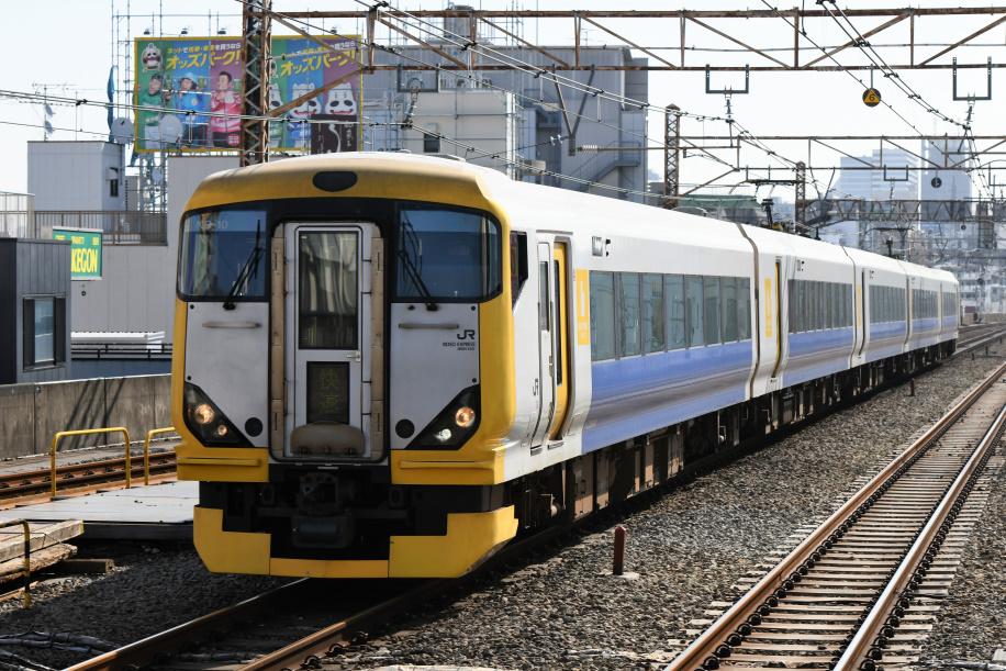 E257系500番台 ホリデー快速 富士山1号 3