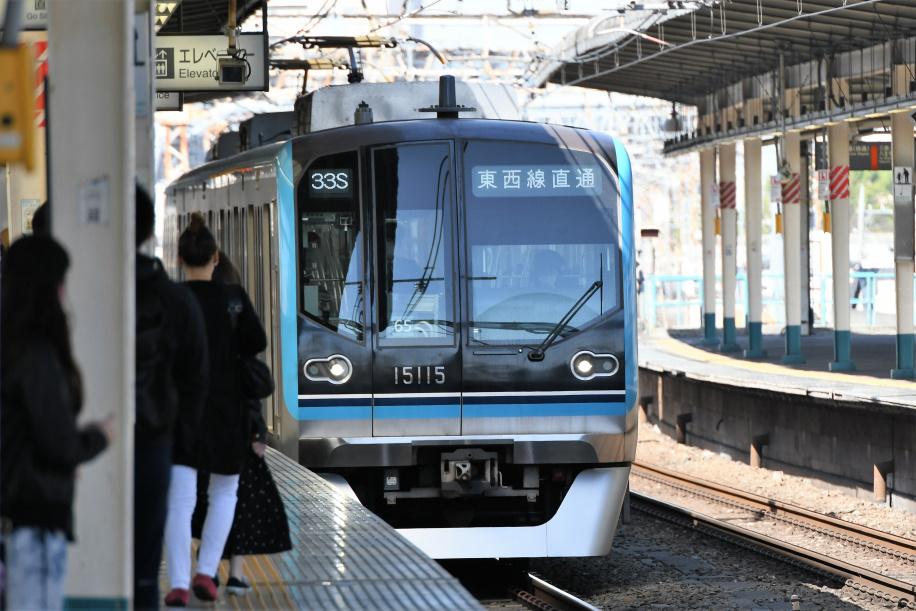 JR&東西線&東葉線 直通電車 1