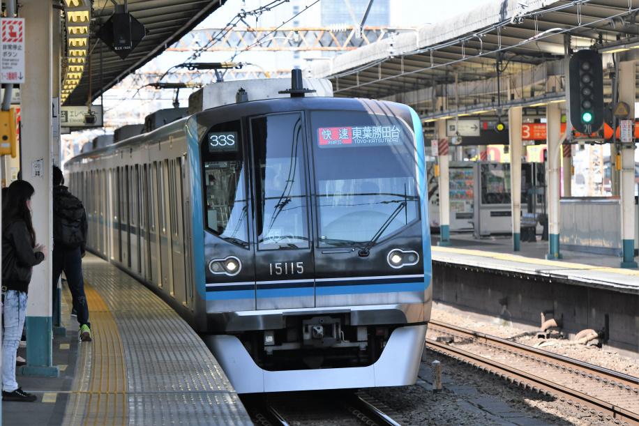 JR&東西線&東葉線 直通電車 2