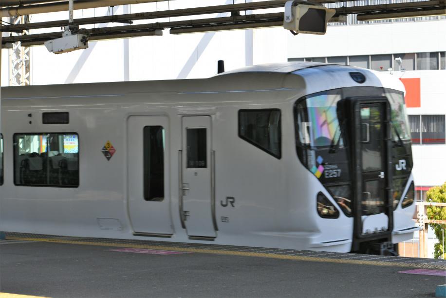 E257系500番台 特急かいじ102号 1