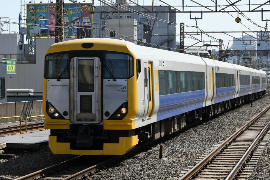 E257系500番台 快速山梨富士3号 1