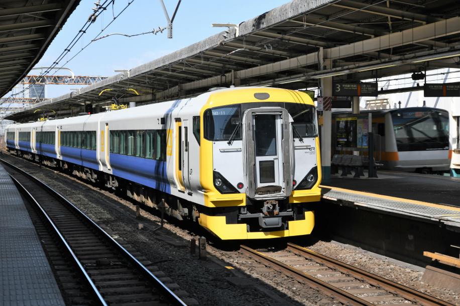 E257系500番台 快速山梨富士3号 2