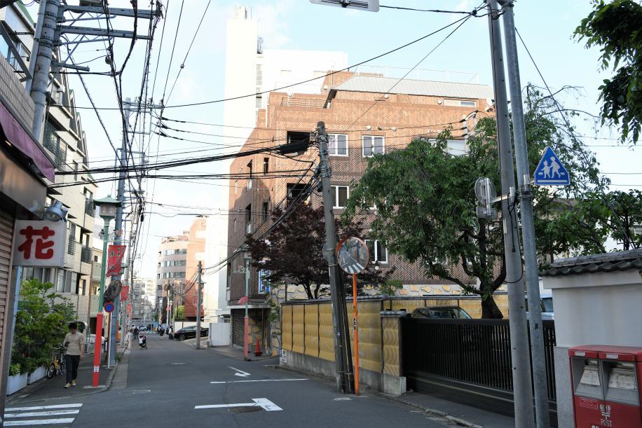 目黒不動尊前 商店街 2