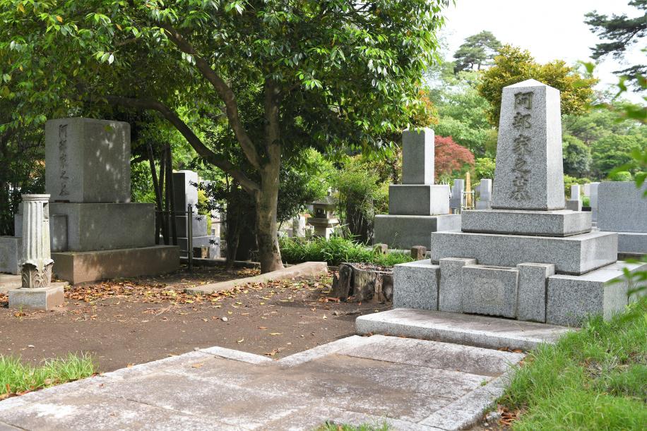 阿部家の墓群