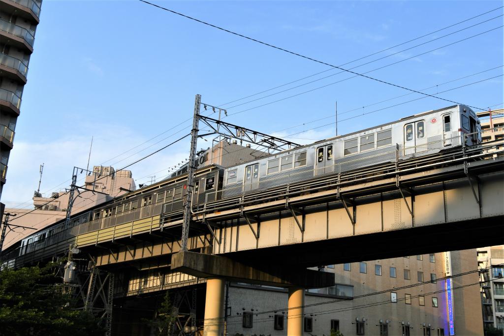 東急7700系 発車 2