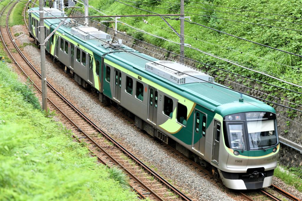 東急7000系 7105F