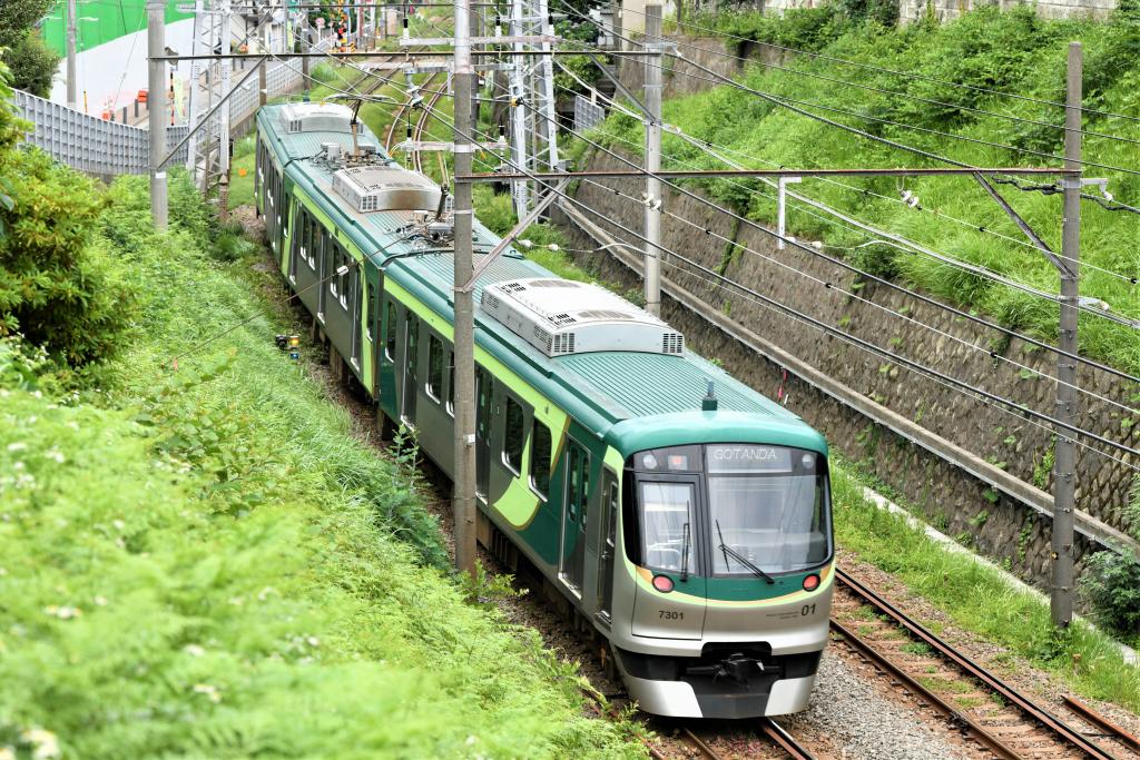 東急7000系 7101F