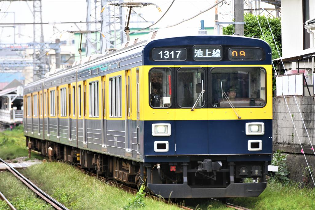 東急1000系 1017F 気になる電車