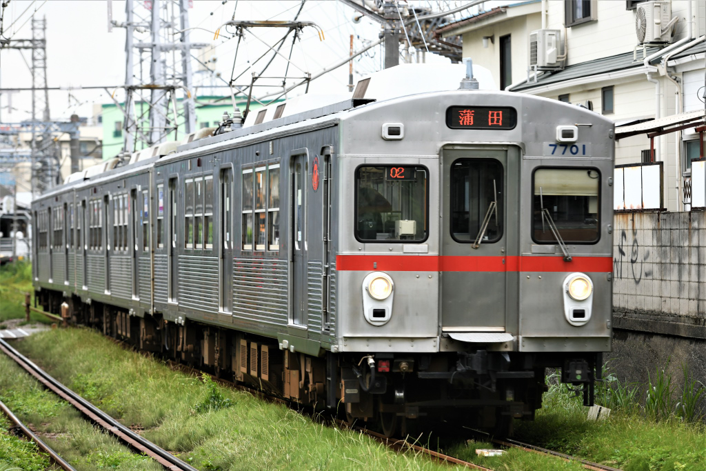 東急7700系 7901F 2