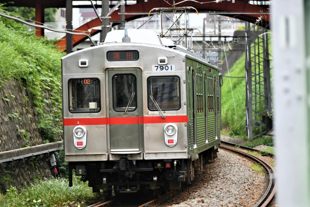東急7700系 7901F 3