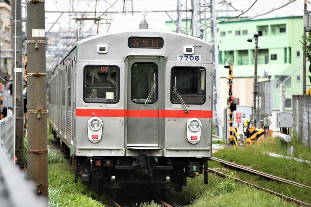 東急7700系 7906F 2