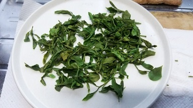 お茶を作る (3)