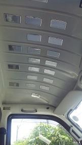 運転室屋根の防音化 (5)