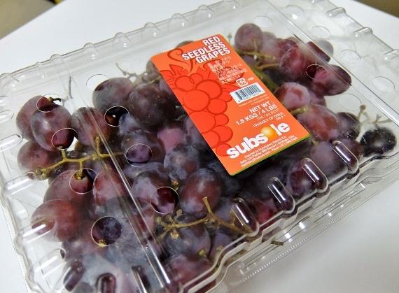 コストコ ◆ レッドシードレスグレープ 1,180円 ぶどう 葡萄 ブドウ