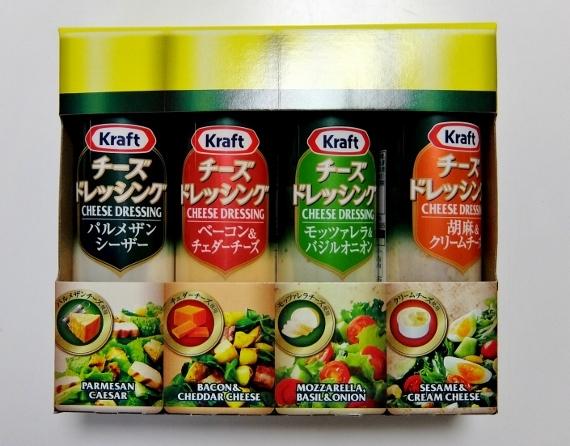 コストコ ◆ クラフトチーズ ドレッシング4P 878円也 ◆