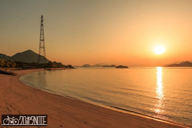 鳥取岬の夕陽