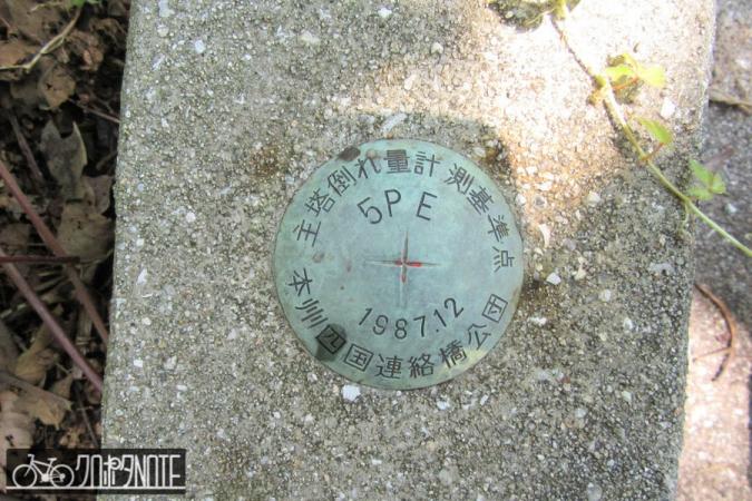 主塔倒れ量計測基準点
