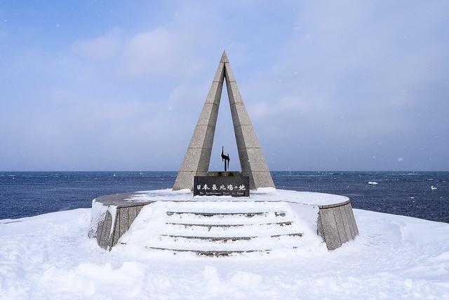 宗谷岬の冬