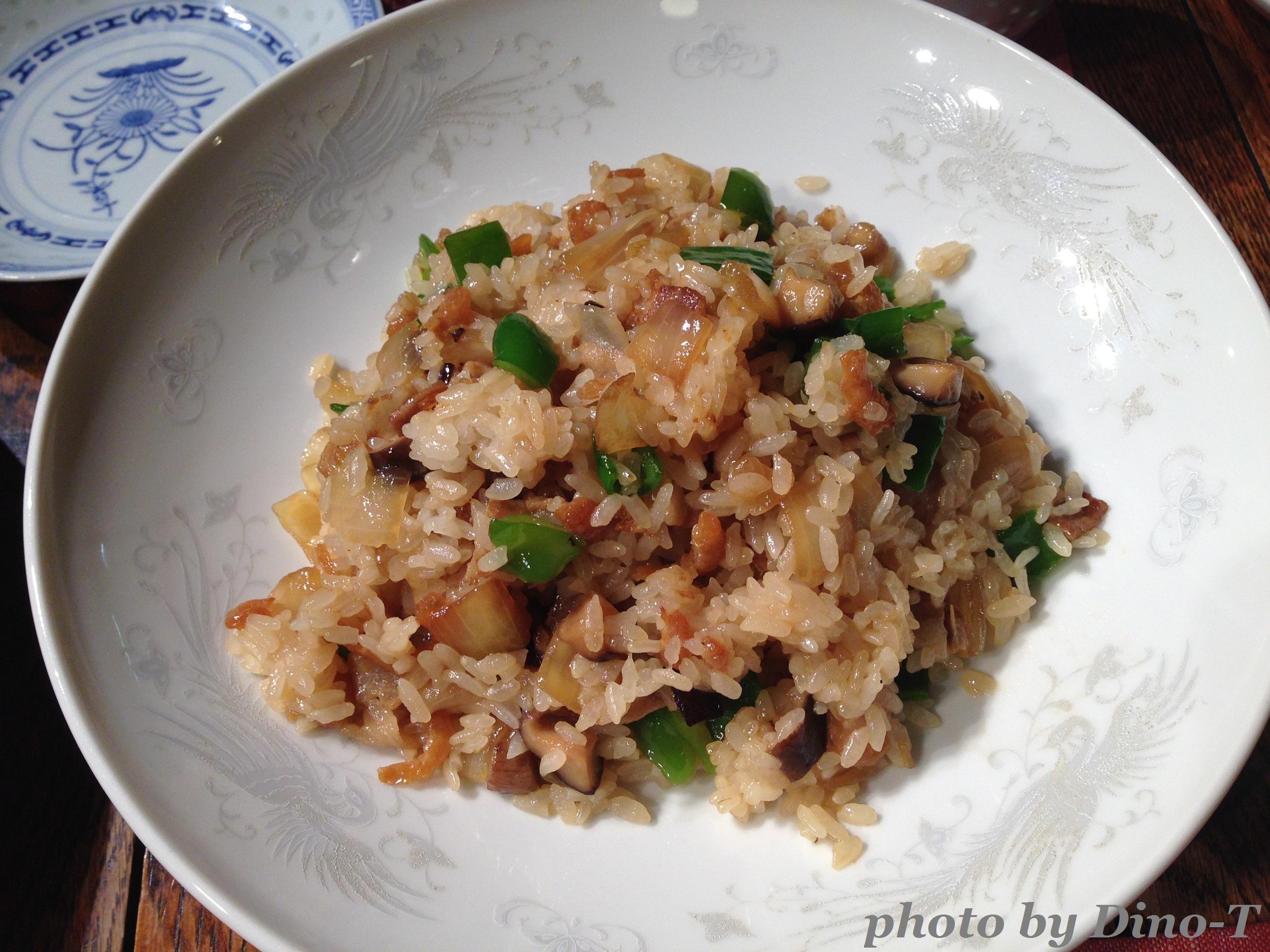 ガーリック炒飯1