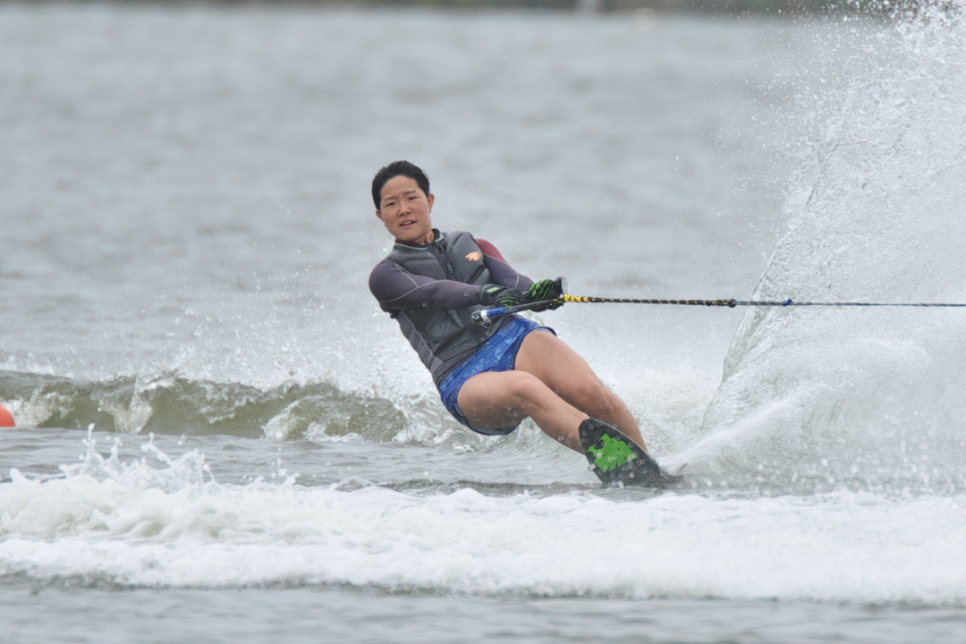 青木志帆選手(學2) 2018CS1 W's Slalom 注目