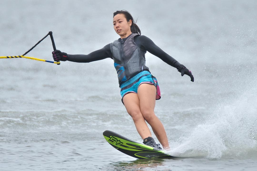 石川莉紗子選手(慶3) 2018CS1 W's Slalom 優勝