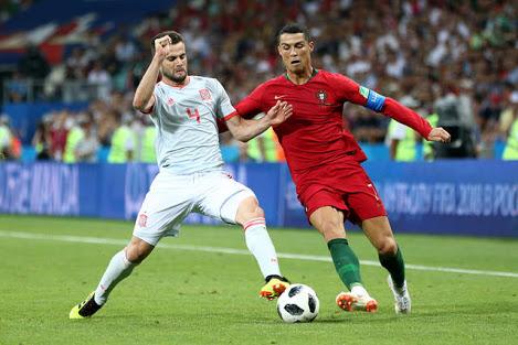 【なんて試合だ!】Cロナがハットトリック!土壇場FK弾でスペインとポルトガルがドロー