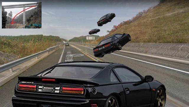 【ジャンピングカー】130キロで走行、車は空中へ のり面に乗り上げ高架から40m下に転落…今年4月の3人死亡事故  秋田県由利本荘市