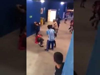 【Fight!】W杯アルゼンチンvsクロアチア(場外戦)
