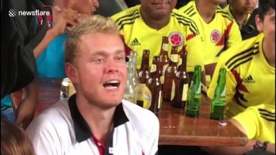 【いいね!】ロシアW杯でいいね!コロンビアサポーターの心温まる陽気さ!
