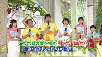 【芸能人サプライズ】24時間テレビダーツの旅的インタビューで杏さん参戦!