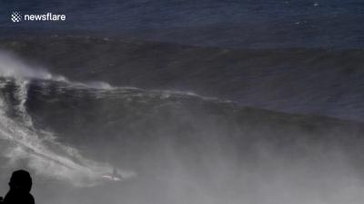 【スゴイ!】ギネス更新!世界最大の波に挑戦して世界一に!