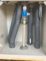 10棟目新ガス給湯器配管